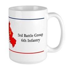 3rd Battle Group 6th Infantry Large Coffee Mug