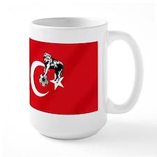 Turkey Soccer Flag Mug