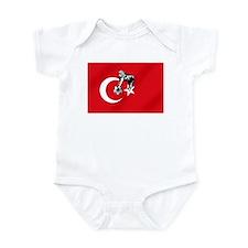 Turkey Soccer Flag Onesie