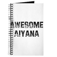 Awesome Aiyana Journal