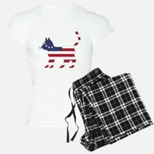 Betsy Ross Flag Cat Icon Pajamas