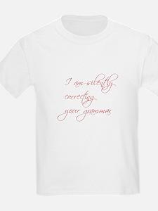 silently-correcting-script T-Shirt