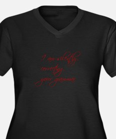 silently-correcting-script Plus Size T-Shirt