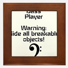 Bass player-hide all breakable objects Framed Tile