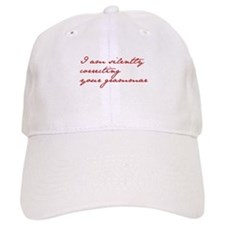 silently-correcting-jane-red Baseball Baseball Cap