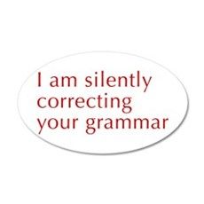 silently-correcting-opt-red Wall Decal
