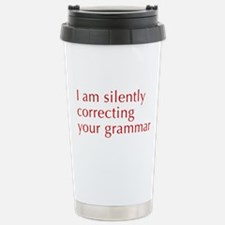 silently-correcting-opt-red Travel Mug