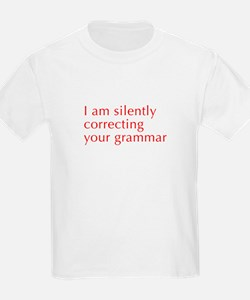silently-correcting-opt-red T-Shirt