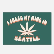 Seattle Freed Postcards (Package of 8)