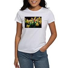 Women's T - One Red Tulip