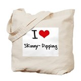 Skinny dipping Totes & Shopping Bags