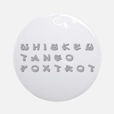 WTF-inner Ornament (Round)