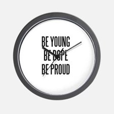 Lana Del Rey Be Young, Be Dope, Be Proud design Wa