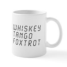 WTF-lcd-gray Mug