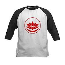 Buddhist Lotus Red Baseball Jersey