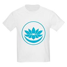 Buddhist Lotus Blue T-Shirt
