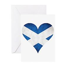 Scotland heart Greeting Card