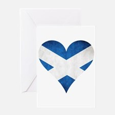 Scotland heart Greeting Card