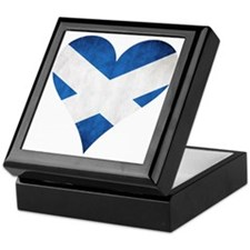 Scotland heart Keepsake Box
