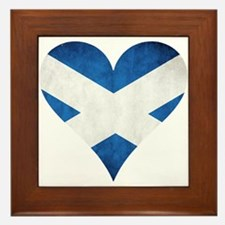 Scotland heart Framed Tile