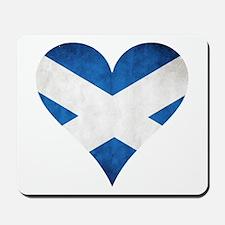Scotland heart Mousepad
