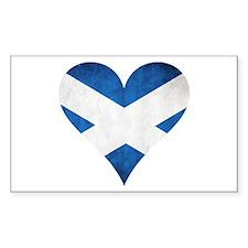Scotland heart Decal