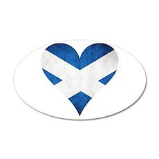 Scotland heart Wall Decal