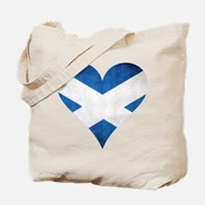Scotland heart Tote Bag