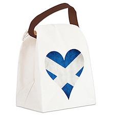Scotland heart Canvas Lunch Bag