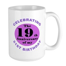 40th Birthday Humor Mug