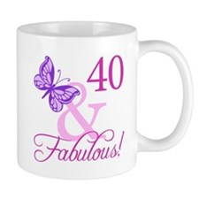 Fabulous 40th Birthday Mug