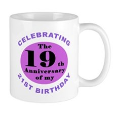 40th Birthday Humor Small Mug