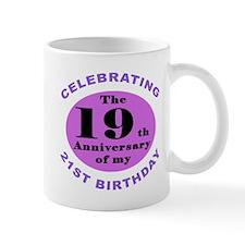 40th Birthday Humor Small Mugs