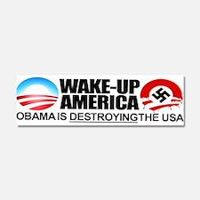 Stop obama Car Magnet 10 x 3