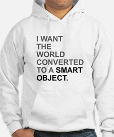 I want the world converted to a Smart Object. Hood