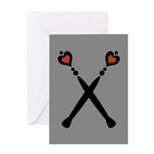 Royal Scepters Motif Greeting Card