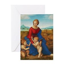 Raphael: Madonna in the Meadow Greeting Card