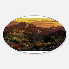 Arizona Desert Sticker (Oval)