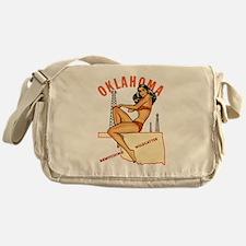Oklahoma Pinup Messenger Bag