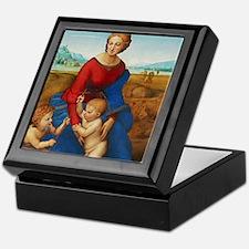 Raphael: Madonna in the Meadow Keepsake Box