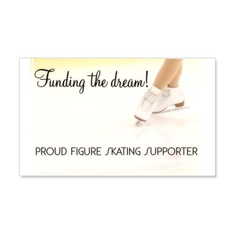 Funding the dream! Wall Decal