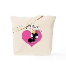 Proud Aunt Ant Tote Bag
