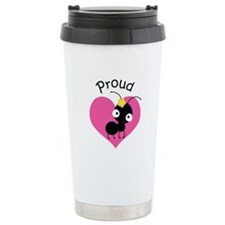 Proud Aunt Ant Stainless Steel Travel Mug