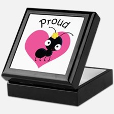 Proud Aunt Ant Keepsake Box