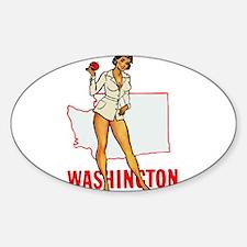 Washington Pinup Decal
