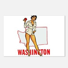 Washington Pinup Postcards (Package of 8)