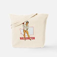 Washington Pinup Tote Bag