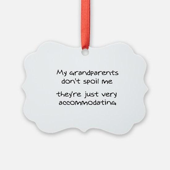 Accommodating Grandparents Ornament