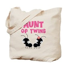 Aunt of Twins Tote Bag