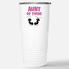 Aunt of Twins Travel Mug